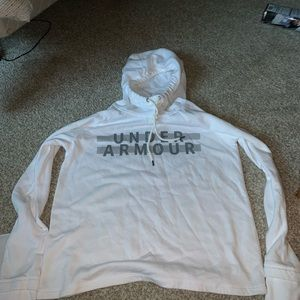 Under Armour White Sweatshirt